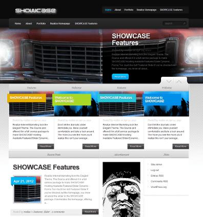 Showcase WordPress Template