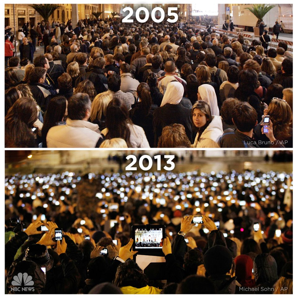 St Peters Square 2005-2013 Mobile Phones